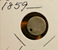 1859 3 cents silver USA COINS