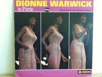 DIONNE  WARWICK              LP        DIONNE  WARWICK  IN  PARIS