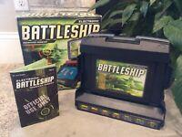 Electronic Battleship Advanced Mission Game MB Hasbro 2005 Vintage Complete!