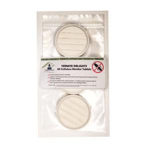 Enviro Bug Control - Pure Cellulose Termite Bait Unit Attractant - 3 Pack