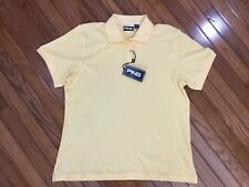 NWT Ping Women's Yellow Golf Polo Shirt Top Blouse Size XL MSRP $36 New