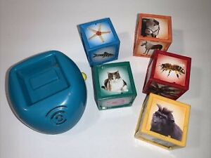 Kidz Delight Animal Cubes Interactive Kids Animal Sounds & Identification Toy
