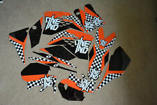 One Ind. checkers KTM  Graphics SX SXF 07 08 09 10 & EXC XC XCF EXC 08 09 10 11