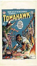 NEAL ADAMS 1970 TOMAHAWK #128 ORIGINAL COVER PROOF PRODUCTION ART DC COMICS