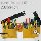 Leather Adjustable Strap Electrician Bag Holder Work Waist Tool Bag TWBAG5020