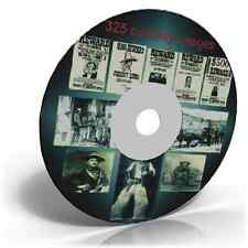 325 old west and cowboy images photo collection on an Art & Craft CD