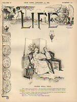 1885 Life January 15-Four-in-hand; Black; Chinese
