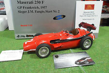 MASERATI 250 F #2 GP France FANGIO 1957 1/18 CMC M-102 voiture miniature collect