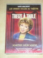 DVD THEATRE / TREIZE A TABLE / MARTHE MERCADIER / NEUF SOUS CELLO