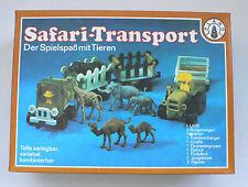 Ostalgie Plaho Safari Transport mit Tieren LKW Traktor set OVP 1970's DDR