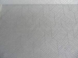 John Lewis furnishing fabric 'ESHER' 1.5m x 138cm remnant Blue Grey