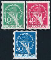 BERLIN, MiNr. 68-70, postfrisch, gepr. Schlegel, Mi. 350,-