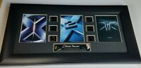 Movie X-Men Trilogy Original Film Cell Memorabilia Wall Plaque w/ COA