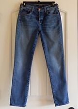 J Brand 9022 CAITLAND Slim Boy Fit in Rise Mid Rise Womens Blue Jeans SZ 26 X 28