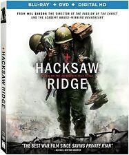 HACKSAW RIDGE  -  Region A   - BLU RAY - Sealed