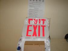 New Astralite Exit Emergency Sign Light Led Tp Uz R W Em Red