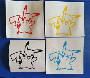 Pokemon Inspired Pikachu VInyl Decal for phone tablet car Sticker