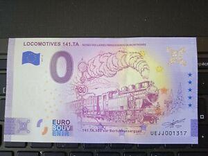 BILLET EURO SOUVENIR 2021-5 LOCOMOTIVES 141.TA
