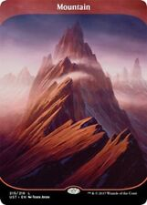 MTG Magic - Unstable - Montagne / Mountain n°215 Full Art - VO