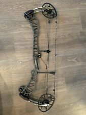 Mathews Traverse Bow Rh 29inch 70# Sitka And Stone With Mathews Ultra Rest