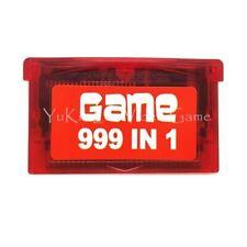 499 en 1 Tarjeta De Cartucho De Juego De Video Para Consolas Nintendo GBA Serie