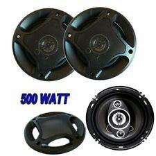 Coppia Casse Auto 500W W Watt Altoparlanti 16cm 3 Vie Macchina Speaker Autoradio