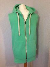 """Jack & Jones green jersey sweatshirt gilet size M (36"""" chest)"""