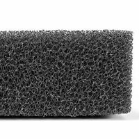 Black Foam Pond Aquarium Fish Tank Sponge Biochemical New Pad Filtration U4T8