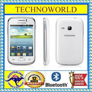UNLOCKED◉SAMSUNG GALAXY YOUNG S6310T◉WHITE◉ANDROID◉WIFI◉3G◉GPS◉1GHz