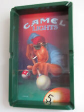 JOE CAMEL Pool Table ASHTRAY 1992 Official RJRTC Camel Lights Billiards
