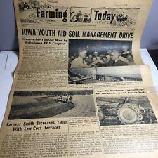 "1947 ""Farming Today� Harry Ferguson Inc Detroit Mi Newspaper Magazine Nice Cond."
