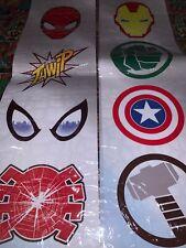 Marvel Avengers & Spider-man Window Stickers. New