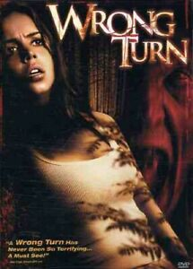 Wrong Turn (DVD, 2003) Brand New! Factory Sealed!