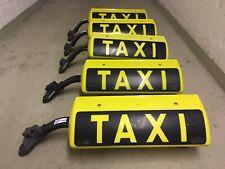 5x Kienzle Dachschild Taxi RoofSign Lampe Dachaufsetzer Fackel Alarm