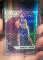 2016-17 Panini Prizm Starburst #131 Brandon Ingram Lakers RC Rookie Card ssp