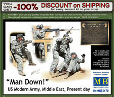 """Master Box 35170 """"Man Down! U.S. Modern Army, Middle east, present day"""" 1/35"""