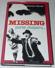 MISSING PORTE DISPARU THOMAS HAUSER ROMAN 1982