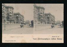 Switzerland Geneve GENEVA Quai du Laman novelty STEREO 1905 PPC