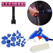 Paintless Car Hail Repair Glue Gun PDR Dent Lifter Puller Ding Removal Tools Kit
