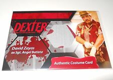 Dexter Seasons 7 & 8 COSTUME TRADING CARD #C14 David Zayas/Angel Batista (A)