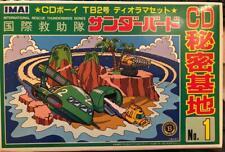 CD SECRET BASE MODEL KIT TB2 IMAI THUNDERBIRDS GERRY ANDERSON B-1859-1000