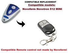 Novoferm Novotron 512 MINI Compatible remote ontrol 433.92MHz.