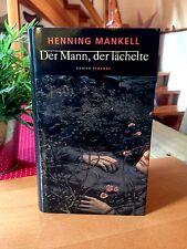 """Henning Mankell   """"Der Mann, der lächelte""""    gebundene Ausgabe"""