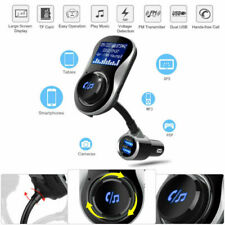 US Car Bluetooth FM Transmitter Charger Kit Dual USB MP3 Radio Player Wireless