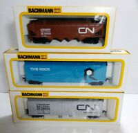 Bachmann HO Trains Lot of 3 Boxed - CN Canadian National 286499 The Rock 57028 +