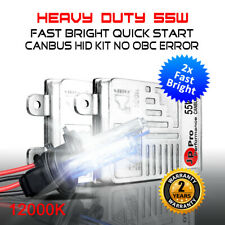 H7 12000K 55W Heavy Duty Fast Bright CANBUS HID Conversion Kit BMW Benz Audi VW