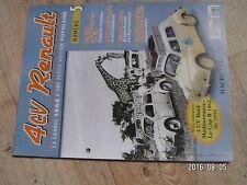 $$u Fascicule 4CV Renault N°5 Raid Mediterranee - Le Cap  4 CV R 1062 Service