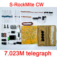 S-Rock Mite CW transceiver shortwave radio telegraph 7.023M Witho Wifi case kits