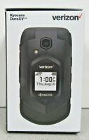 BRAND NEW SEALED Kyocera DuraXV E4610PTT 4G LTE 16GB -Blk (Verizon) with CAMERA