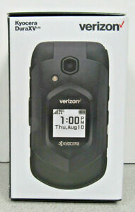 BRAND NEW SEALED Kyocera DuraXV E4610PTT 4G LTE 16GB -Blk (Verizon) with CAMERA